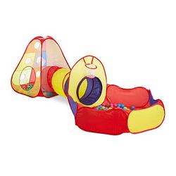 relaxdays Bällebad   mehrfarbig 140,0 x 300,0 x 100,0 cm