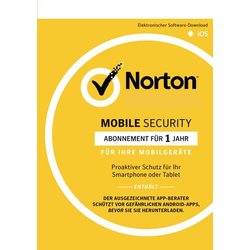 Norton Life Lock Norton™ Mobile Security 3.0 Vollversion, 1 Lizenz Android, iOS Sicherheits-Softwa