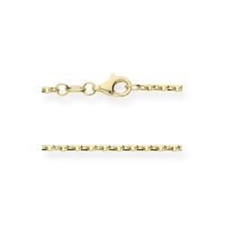 JuwelmaLux Collier Collierkette Gold 60 cm