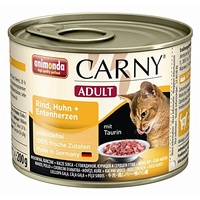 animonda Carny Adult Rind, Huhn & Entenherzen
