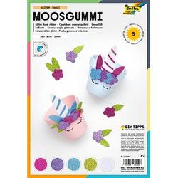 folia Moosgummi Glitter