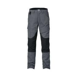 Kansas - Bundhose 2526 PLW Gr. C58 grau/schwarz 65% PES/35% CO