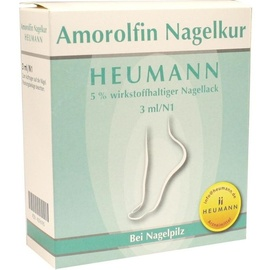 Heumann Amorolfin Nagelkur Heumann 5% wirkstoffhaltiger Nagellack 3 ml