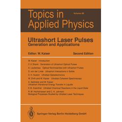 Ultrashort Laser Pulses als Buch von