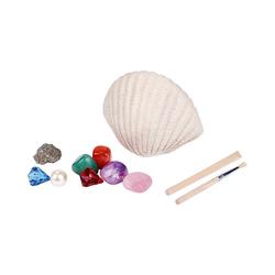 moses Lernspielzeug Mein funkelnder Muschelschatz - Zum Ausgraben und