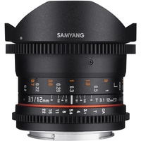Samyang 12mm T3,1 Fisheye ED AS NCS VDSLR Micro Four Thirds