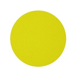 Kunstleder, 1,40 x 0,75m, gelb