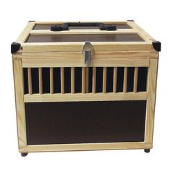 Holz Transportkiste für Geflügel