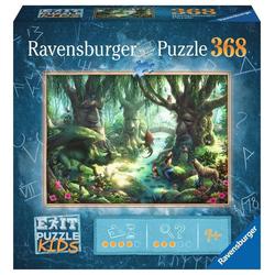 Ravensburger Puzzle 12955 Kids Der magische Wald 368 Teile Puzzle, Puzzleteile