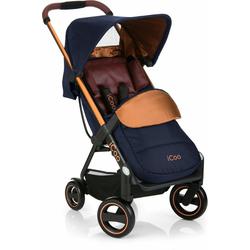 iCoo Kinder-Buggy Acrobat Copper Blue, mit leichtem und stylischem Aluminiumgestell; Kinderwagen, Buggy, Sportwagen, Sportbuggy, Kinderbuggy, Sport-Kinderwagen