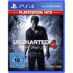 Uncharted 4A Thief's End PS4 USK: 16