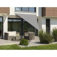Schneider Schirme Lanzarote dreieckig 400 x 400 x 300 cm silbergrau