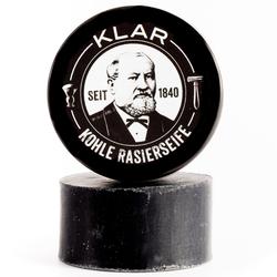 Klar's Rasierseife Aktivkohle 110 g