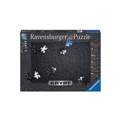 Ravensburger Puzzle Puzzle 736 Teile, 70x50 cm, Krypt Black, Puzzleteile