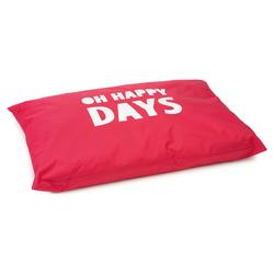 Beeztees Hundekissen Happy Days rot