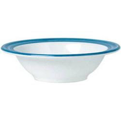 Schale 14 cm, Inhalt 22 cl Bistro - weiss/blau