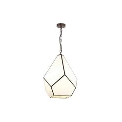 FAVOURITE Hängeleuchte Eislager, mit Glas im Tiffany-Stil