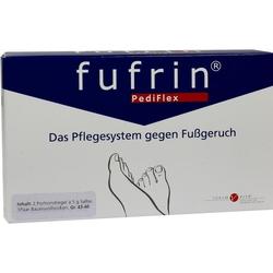 FUFRIN PediFlex Pflegesyst.Socke+Salbe Gr.43-46 10 g