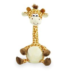 Plüschtier Laber Giraffe   30 cm, inkl. 3x AAA Batterien