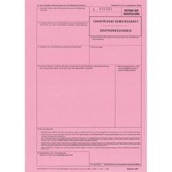 Ursprungszeugnis A4 2-fach für Laserdrucker