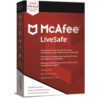 McAfee LiveSafe 2019 Unlimited ESD Win Mac Android iOS