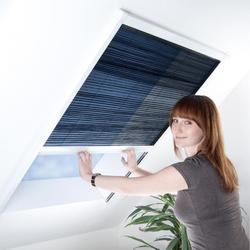 Plissee für Dachfenster - Fliegengitter Insektenschutz