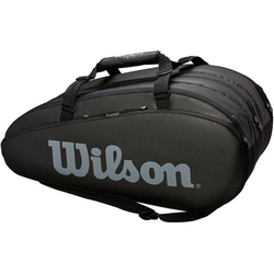 WILSON Tennisrucksack Tour 3 Comp BKGY 15er