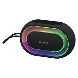 Creative Halo Bluetooth-Lautsprecher in schwarz Bluetooth-Lautsprecher