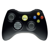 Microsoft Xbox 360 Wireless Controller schwarz ab 39.79 € im Preisvergleich