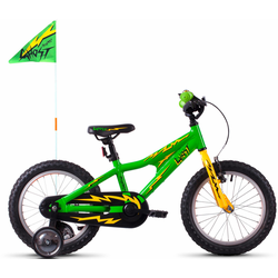 Ghost Kinderfahrrad POWERKID AL 16 K, 1 Gang grün Kinder Kinderfahrräder Fahrräder Zubehör Fahrrad