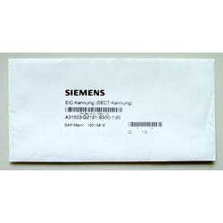EIC-Kennung DECT-Kennung L30251-U600-A395