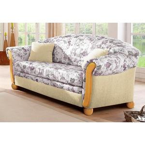 Home affaire 2-Sitzer Milano, mit Bettfunktion beige