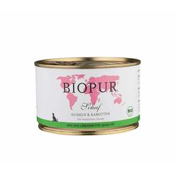 BIOPUR Bio Schaf, Nudeln & Karotten für Hunde