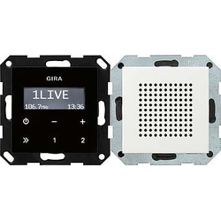 Gira Unterputz-Radio RDS System 55 rws 228027