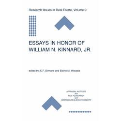 Essays in Honor of William N. Kinnard Jr. als Buch von
