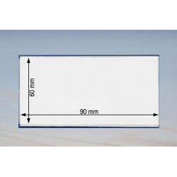 Namensschild 90 x 60 mm - 100 Stück