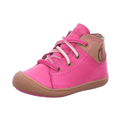 Vado Lauflernschuhe EASY mit Lammfell Lauflernschuh rosa 25