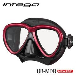 TUSA Intega - Tauchmaske - Metallic Red/Black