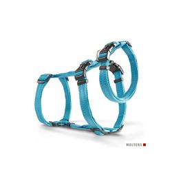 Wolters Hunde-Geschirr Ausbruchssicheres Soft & Safe No Escape, Nylon blau M - 50 cm - 70 cm