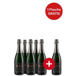 5+1-Paket WF 1 Winzersekt trocken - Erzeugergemeinschaft Winzersekt - Weinpakete