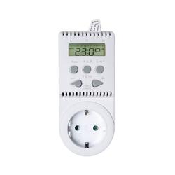 tectake Thermostat für Steckdose TS20 Smartes Heizkörperthermostat