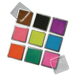 Rayher Stempelkissen Scrapbooking-Set 9 Farbtöne