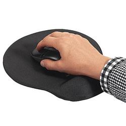DURABLE Mousepad mit Handgelenkauflage anthrazit
