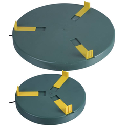 Tränkenwärmer Ø 30cm, 24V DC/ 24W + 230V AC > 28V DC Adapter