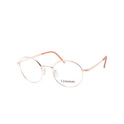 Neubau Eyewear Felix T 038/75 3530, inkl. Gläser, Runde Brille, Damen