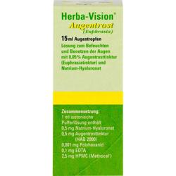 HERBA-VISION Augentrost Augentropfen 15 ml