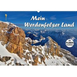 Mein Werdenfelser Land (Wandkalender 2021 DIN A2 quer)