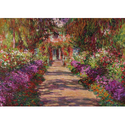 Piatnik Puzzle Monet, Weg in Monets Garten in Giverny, 1000 Puzzleteile