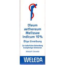 OLEUM AETHEREUM melissae indicum 10% 50 ml
