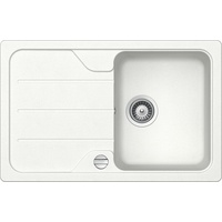 Schock Formhaus D-100S Einbau Weiß + Excenterbetätigung